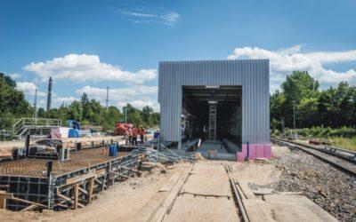 CONSTRUCTION OF S-BAHN TRAIN WASH