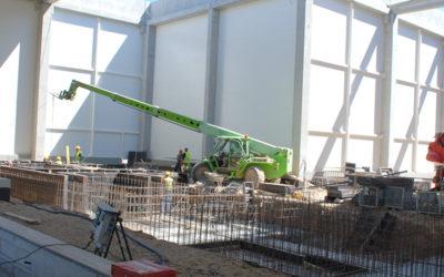 Budowa zakładu napraw taboru kolejowego